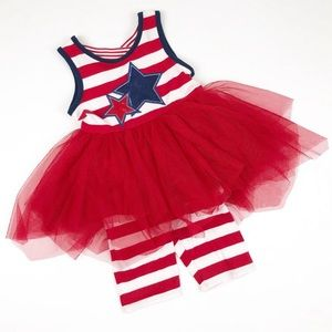 Emily Rose July 4th Patriotic American Outfit 4